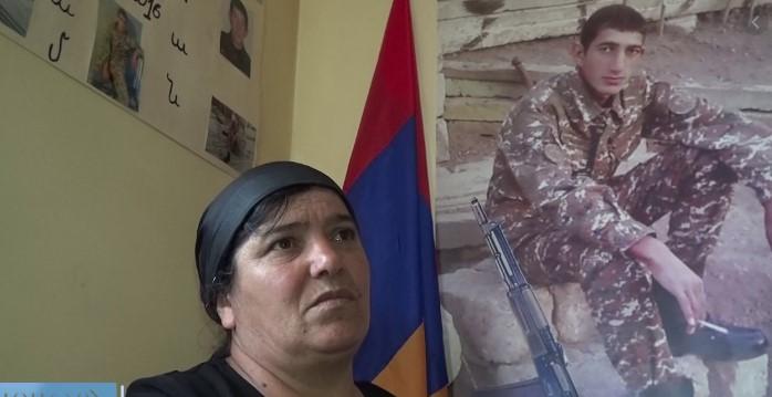 Եթե պատերազմ եղավ, ես էլ կգնամ․Քյարամ Սլոյանի մայր՝ Նվարդ Սլոյան